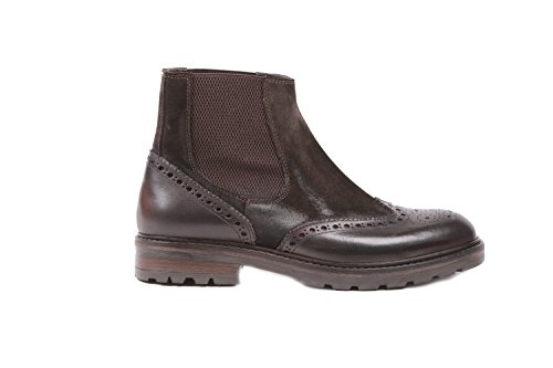 WEXFORD HOMME 28701 MARRON CUIR BOTTINES