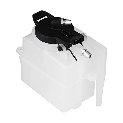 Dilwe RC Fuel Tank, Plastic Gas Power Vehicle Fuel Tank Model Accessory 75CC 02004 Fuel Tank for HSP 94188 / 94122 1/10 Scale RC Car
