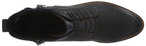 Marco Tozzi Premio Damen 25215 Kurzschaft Stiefel Navy