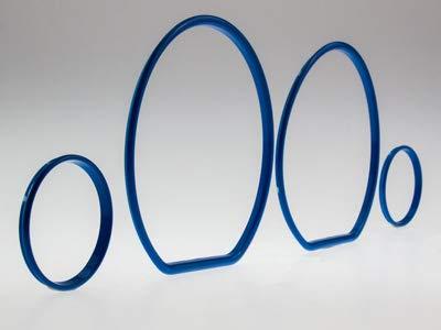LETRONIX Anillos de velocímetro azules para coche, Golf 3 Vento ...