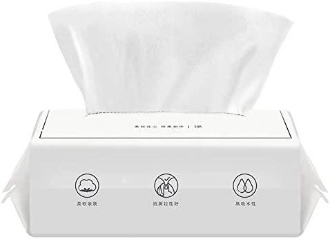 4 rollos toalla facial algodón femenino toallas de limpieza ...