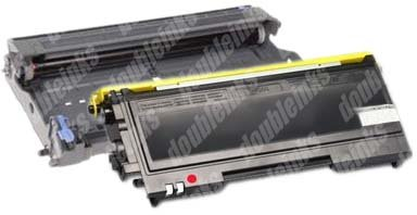 Combo Pack Remanufactured (1 Drum Kit+1 Toner) compatible with Brother TN-350/DR-350 ()