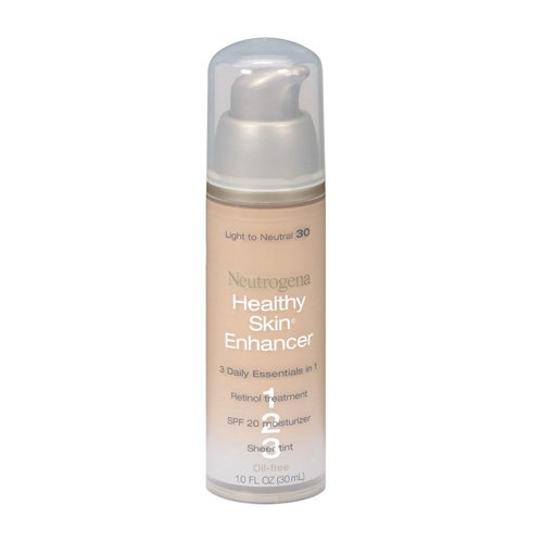 Neutrogena peau saine Enhancer, Lumière à Neutre 30, 1 once