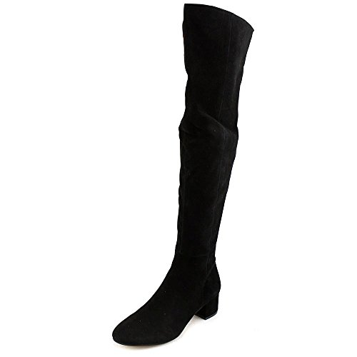 Wildleder Instinct Zeh Fashion Marc Runder Stiefel Fisher Suede Black Frauen BXnxqpw6EO