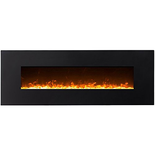 electric fireplace wall mountable - 6