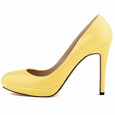 Talones de las mujeres del resorte de la caída de la PU Otros banquete de boda y vestido de noche estilete HeelBlack Azul Amarillo Verde Rojo Violeta luz blanca luz de color rosa Light Yellow