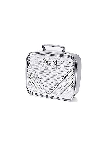 Justice Lunch Tote (Silver Metallic ()