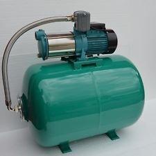 100-L-Hauswasserwerk-Pumpe-1300-INOX-Edelstahl-Hauswasserautomat-Gartenpumpe