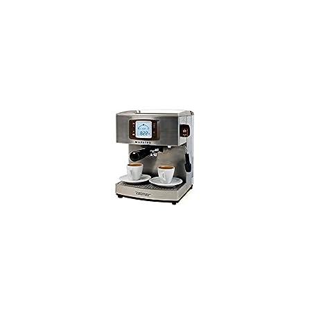 Zelmer 13Z012 Máquina espresso 2.1L 2tazas Acero inoxidable - Cafetera (Máquina espresso, 2,1 L, 1050 W, Acero inoxidable): Amazon.es: Hogar