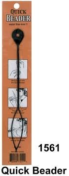 Quick Beader for loading beads on hair (Fragile Delicate Tool - Use with CARE) (Hair Beading Tool)