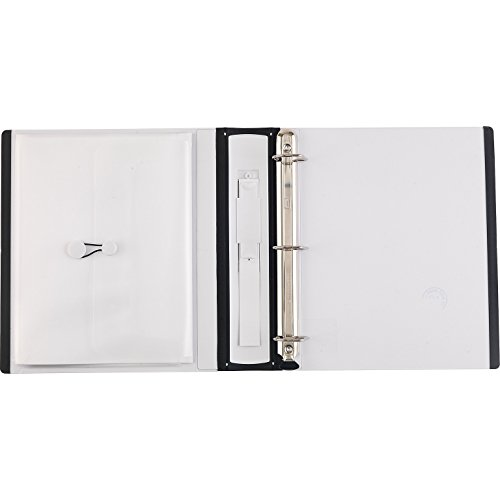 1 1 2 inch staples better view binders with d rings white import