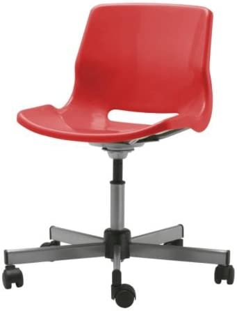 Ikea Snille Swivel Chair Red Amazon Co Uk Kitchen Home