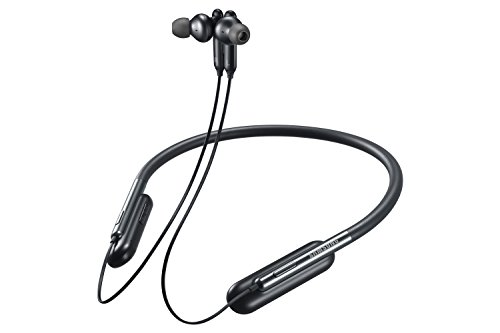 Samsung U Flex Bluetooth Wireless In-ear Flexible Headphones with Microphone, Black.