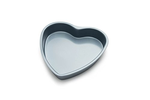 Fox Run 4458 Heart Cake Pan, 8-Inch, Preferred Non-Stick - Heart Non Stick Cake Pan