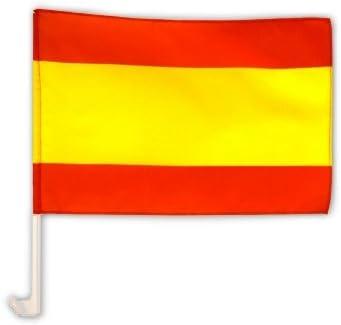 Bandera de España para coche, 30 x 45 cm: Amazon.es: Deportes y aire libre