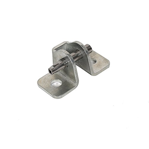 ECOTRIC 1984-2001 Jeep Cherokee XJ Door Check Bracket & Pin Replacement Repair Front or Rear