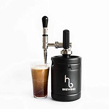 Image of Home and Kitchen Nitro Cold Brew Coffee Maker – Mini Keg Dispensing System - Home Brew Kit - The Perfect Valentine's Day Gift