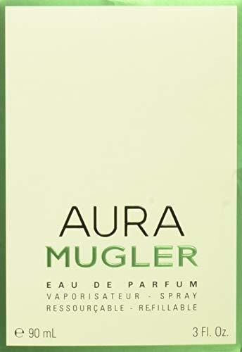 Price comparison product image Aura MUGLER 90 ml refillable Spray EDP