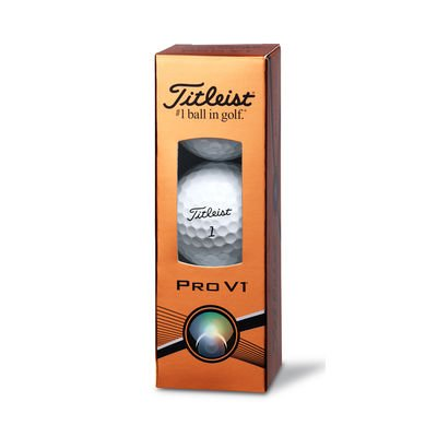 - Titleist Pro V1 Golf Balls - Sleeve, 3 Balls
