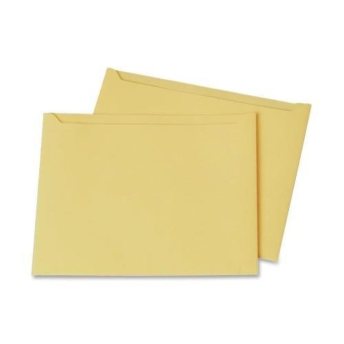 Quality Park 63972 Professional Filing Jackets - 9.50'' Width x 11.75'' Length Sheet Size - Cameo - 100 / Box by Quality Park