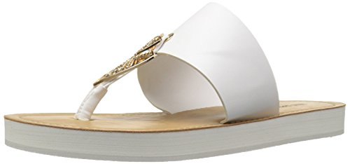 Women Call Astalecien Sandal Spring Flat It White BWwqE0w6H
