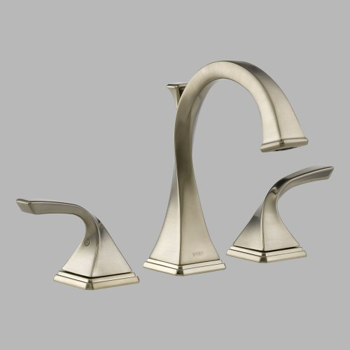 Brizo 65330LF-BN Virage Bathroom Faucet Double Handle Widespread with Metal Lever Handles, Brushed Nickel by Brizo