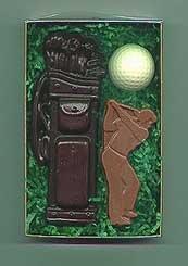 Chocolate Golf Gift Set - 3 pc.