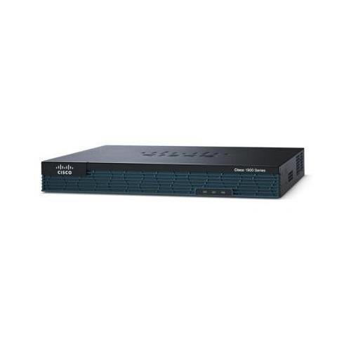- Cisco 1921 Multi Service Router - 2 Port - 2 Slot - 2 x HWIC - 2 x 10/100/1000Base-T Network LAN CISCO1921/K9