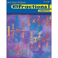 Fractions II Operations (Best Value Drillbook)