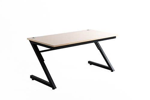 WriteyBoard Dry Erase Desk Home Study Table. Computer Desk for Office. Wooden Furniture Writing Workstation. Fineboard Creative Surface Birchwood Black Leg – 24×48