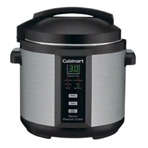 Cuisinart Electric Pressure Cooker 6-Quart , Brushed Stainless and Matte Blac by Cuisinart