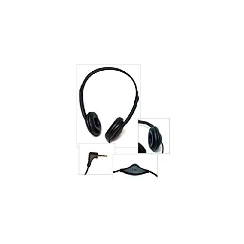 Soundnetic SN-CCV 25 Pack Budget Classroom Headphones, Stereo, with Leatherette Earpads & Volume Control