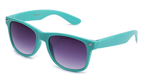 3 FOR $12 Newbee Fashion - 80's Classic Blue Brothers Horn Rimmed Style Vintage Retro Sunglasses Lots of Popular Colors to (Lucy Despicable Me Costume)