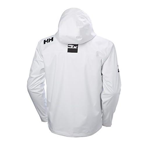5da132deb Helly Hansen Men's Crew Midlayer Fleece Lined Waterproof Windproof  Breathable Sailing Rain Coat Jacket with Stowable Hood