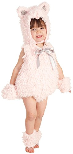 Princess Paradise Baby Girls Shaggy Pink Kitty, 6/12 (Baby Costume Ideas For Halloween)