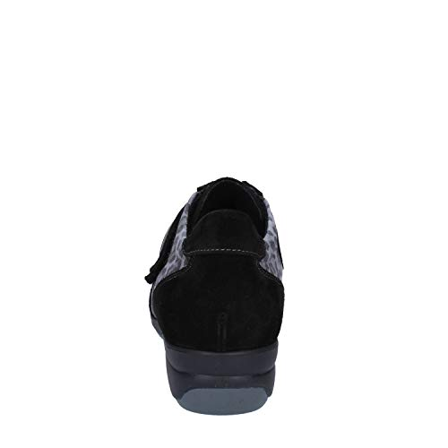 Susimoda Sneaker Nero Pelle Scamosciata Donna r0rRqFH1