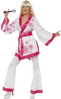 Disfraz de Años 70 Abba Agnetha mujer: Amazon.es: Juguetes y juegos
