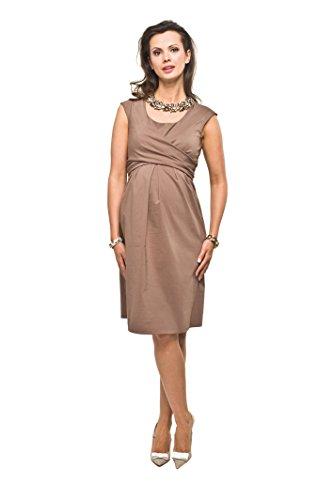 e comodo 1 2 dell'abito Modell Marrone elegante in dell'abito Zurina push zitta qxptR4tw