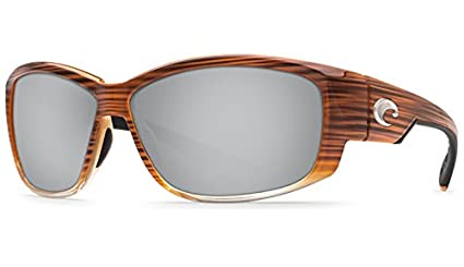 8550bf6295179 Image Unavailable. Image not available for. Color  Costa Del Mar Luke  Sunglass Wood Fade Copper Silver Mirror 580Glass