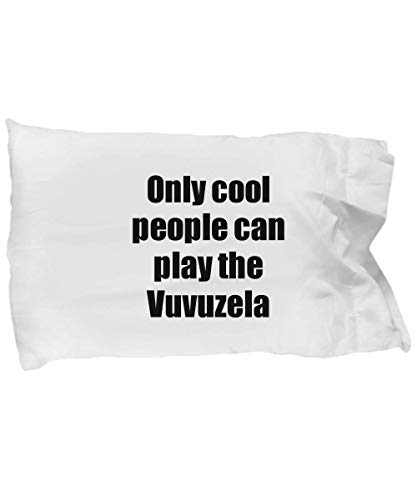 Vuvuzela Player Pillowcase Musician Funny Gift Idea Bed Body Pillow Cover Case Set]()
