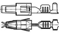 Automotive Connectors JUN-POW-TIM CONT (50 pieces)