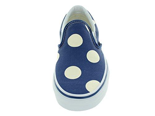 Vans Classic - Slip-On Mujer (polka dots) navy