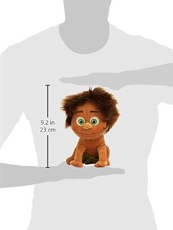 Amazon.com: Le voyage dArlo- Peluche SPOT (le petit garçon du film « Le voyage dArlo ») 25 cm -THE GOOD DINOSAUR - Bonne Qualité: Toys & Games