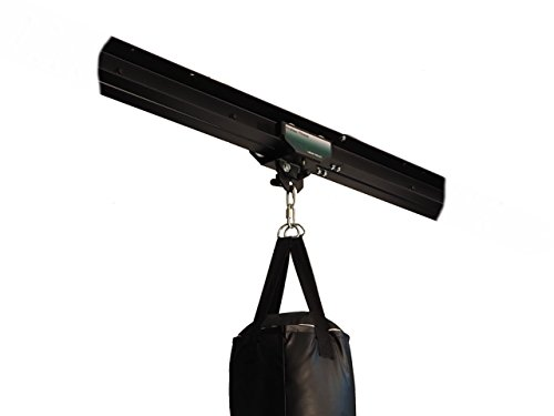 Firstlaw Fitness I-Beam Rolling Mount for Punching Bag & 4 Foot Rail Combo - GREEN Rolling Mount - Made in the USA by Firstlaw Fitness