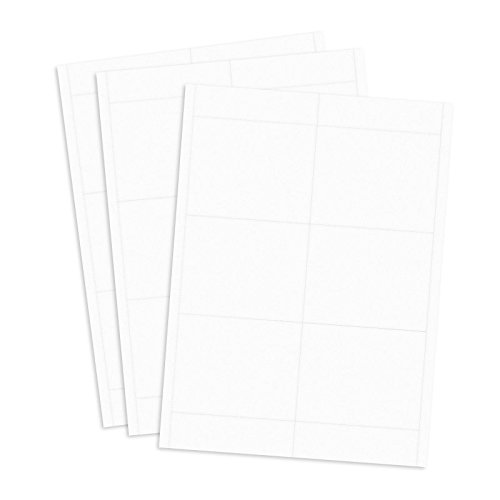 Convention Size Laser Printer Paper Name Tag Inserts