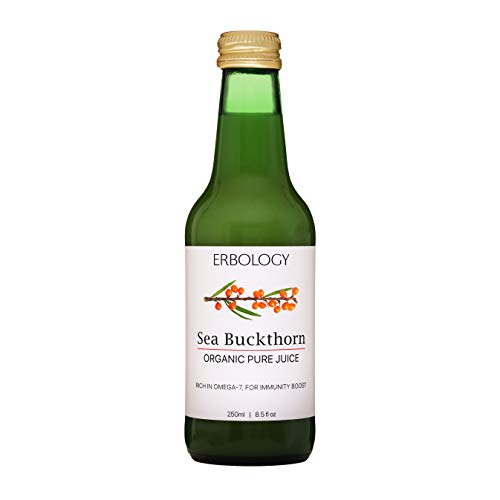 Organic Sea Buckthorn Juice 8.5 fl oz - Immunity Booster - Rich in Omega-7 and Vitamin C