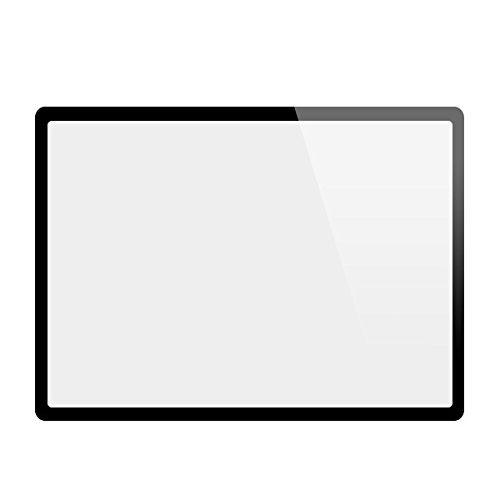 GGS LCD Displayschutz Glas für Sony Alpha 7 II (die vierte G) - LCD-Echtglas-Protektor für Sony Alpha 7 II - 6-Schicht-Prinzip plus Schutzrahmen