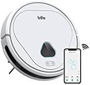 Trifo Max Robot Vacuum Cleaner, with 3000Pa Strong Suction, 120-minute Runtime, Self-Charging, Washable Filter