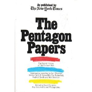 Book cover from The Pentagon Papers. As Published by the New York Timesby Neil Sheehan