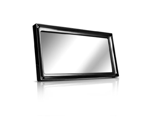Prestige License Plate Cover and Frame - Satin Black Finish